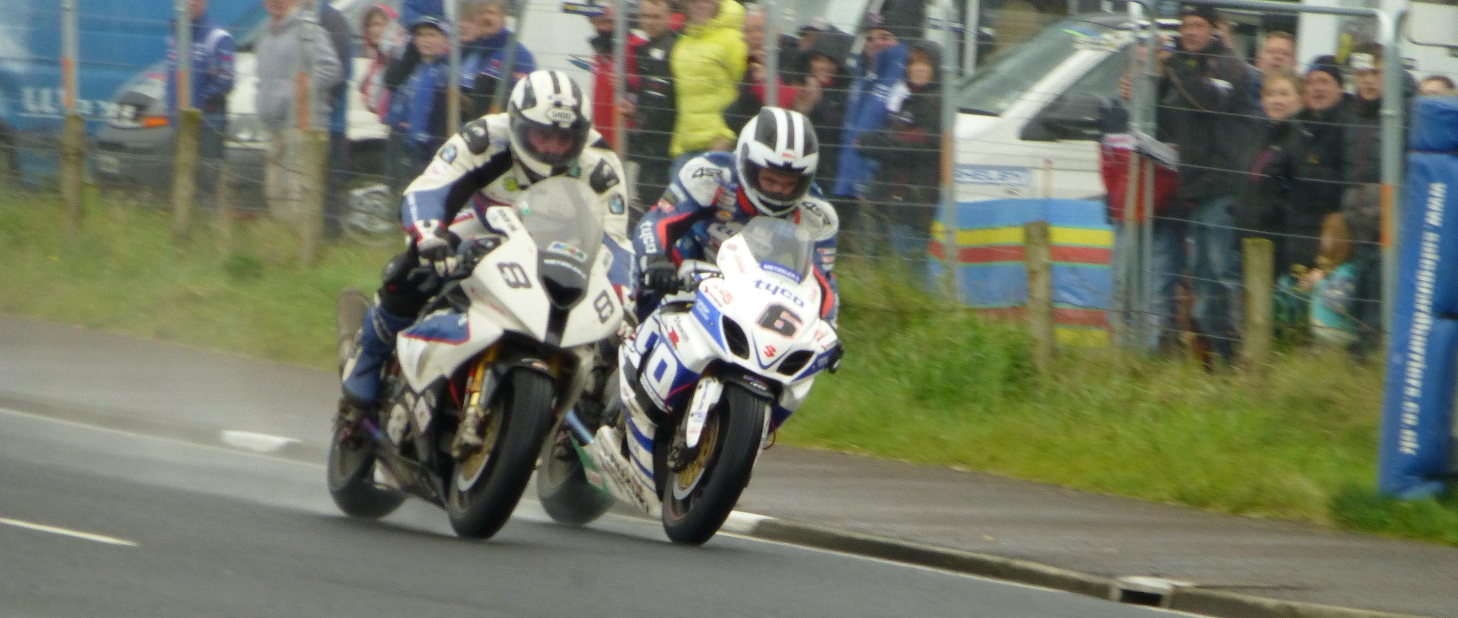 Michael Dunlop v William Dunlop at 2014 NW200