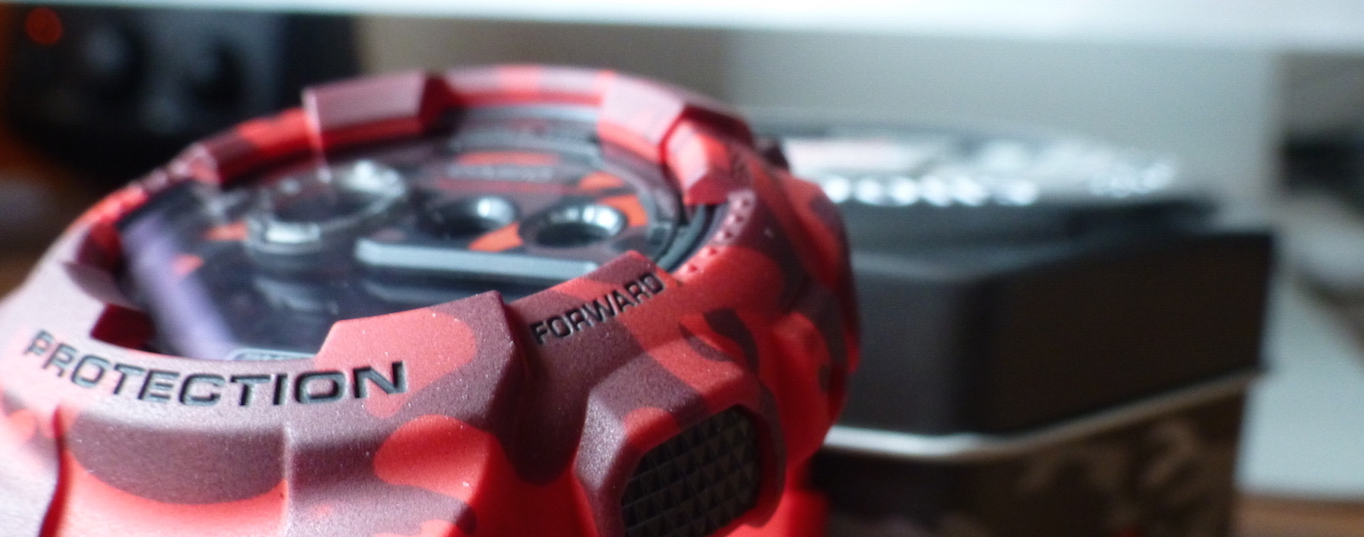 G Shock GD-120-CM-4ER Unboxing