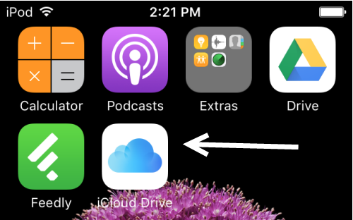 Putting iCloud Drive on your Home Screen iOS 9