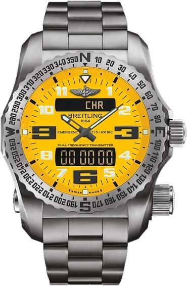 Breitling Emergency II - Yellow Dial