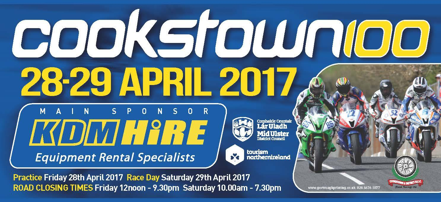 2017 Cookstown 100