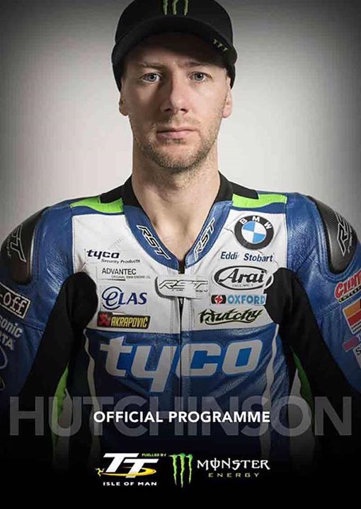 2017 Isle of Man TT Programme Cover Art - Who Will You Choose?  Ian Hutchinson