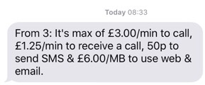 Watch out for those Phone Charges whilst at Sea