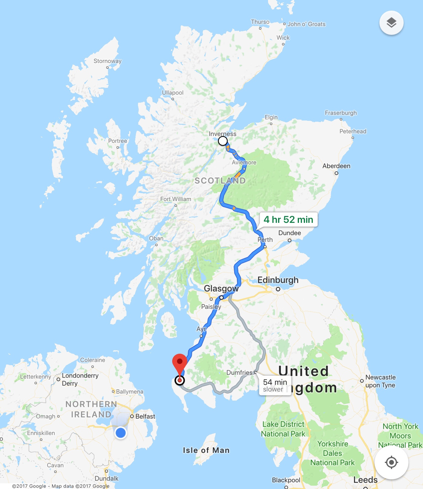 Scotland's North Coast 500 : NC500 : The Route Back