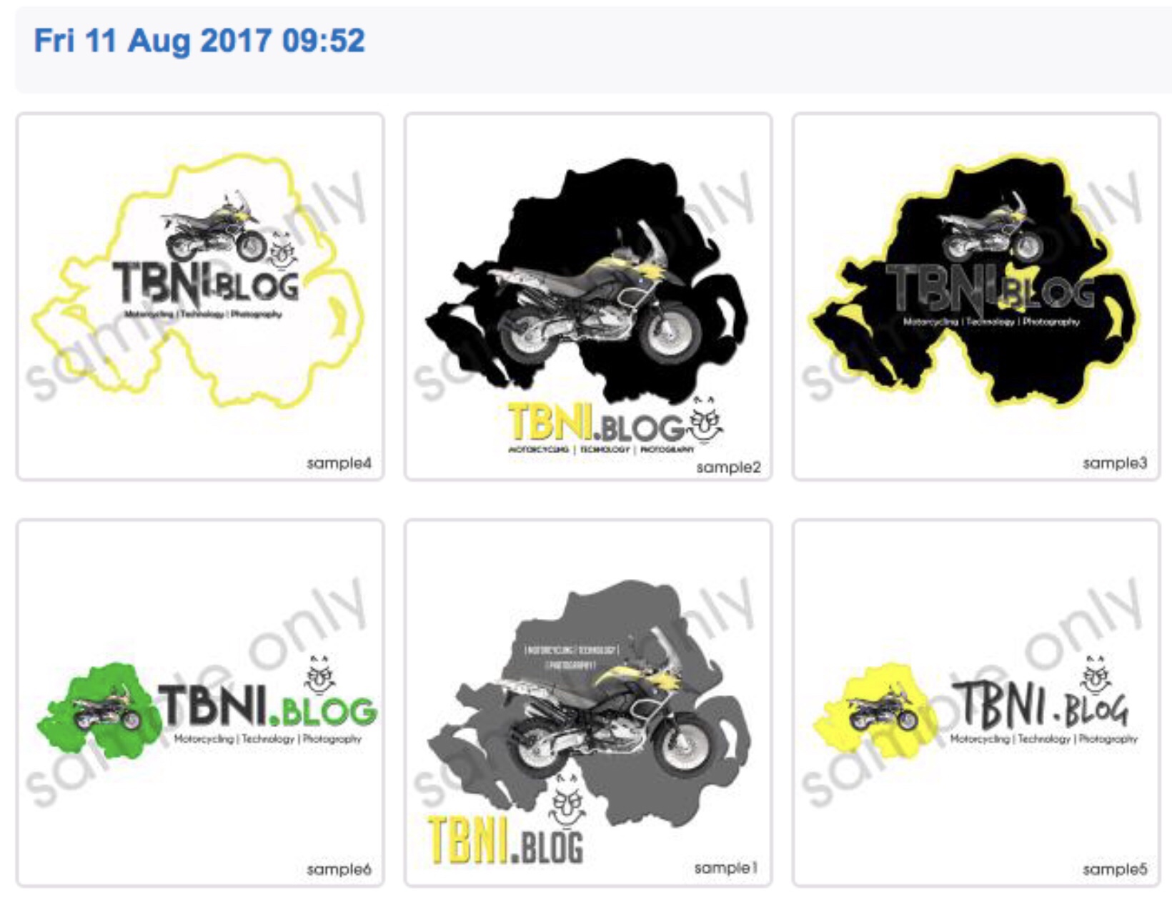 The Second Pathetic Set of Logos Offered - Allegedly The Senior Design Team Worked on these
