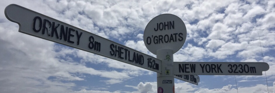 Scotland's North Coast 500 : NC500 : John O'Groats