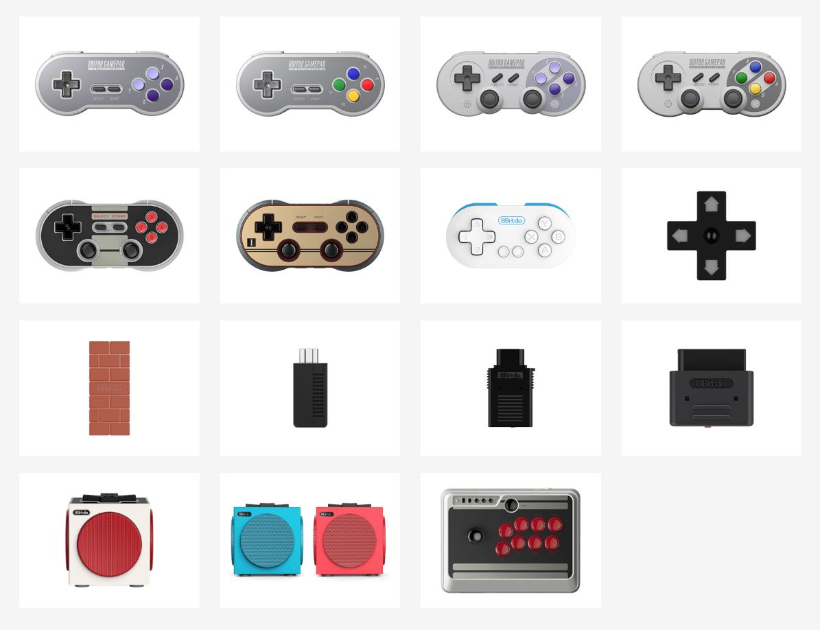 8BitDo Range of Controllers