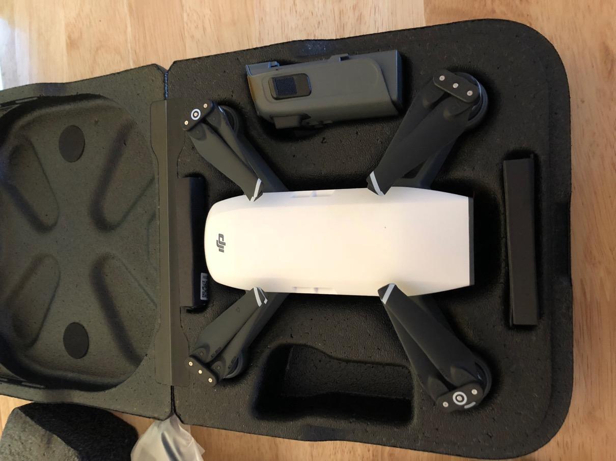 DJI Spark in carry box