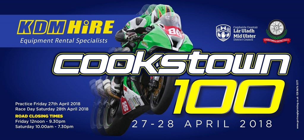 2018 Cookstown 100