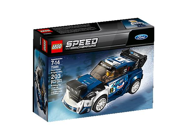 Lego Ford Fiesta WRC Box