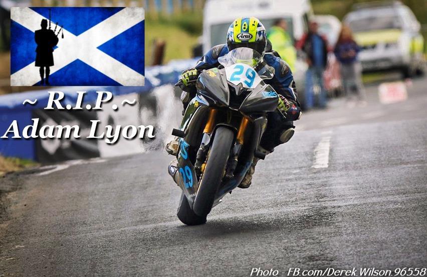 Adam Lyon Isle of Man TT 2018