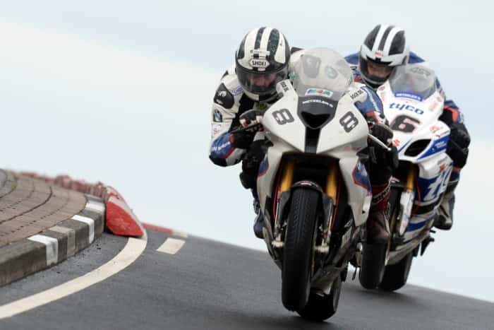 William Dunlop and Michael Dunlop Duel at the 2014 North West 200