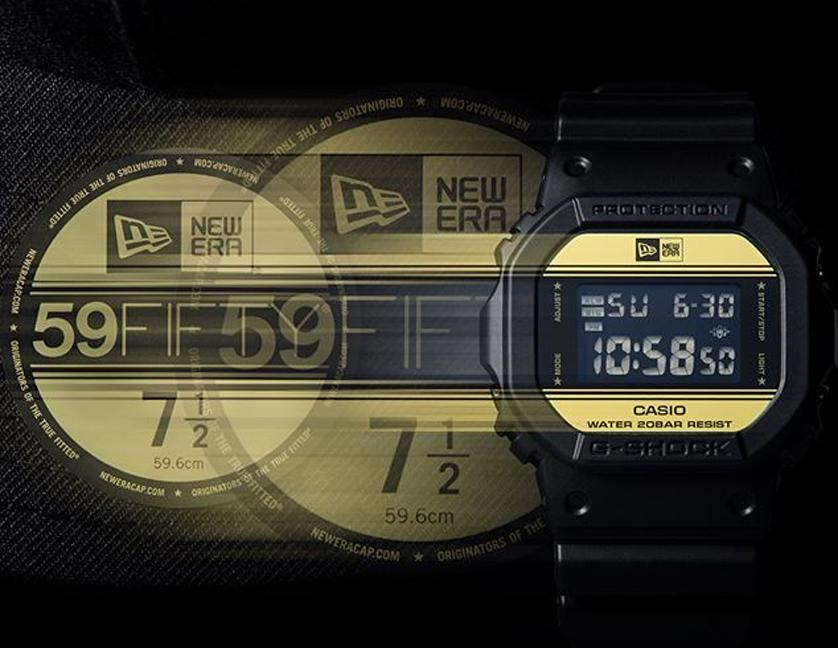 Casio G-Shock DW-5600 New Era X Limited Edition