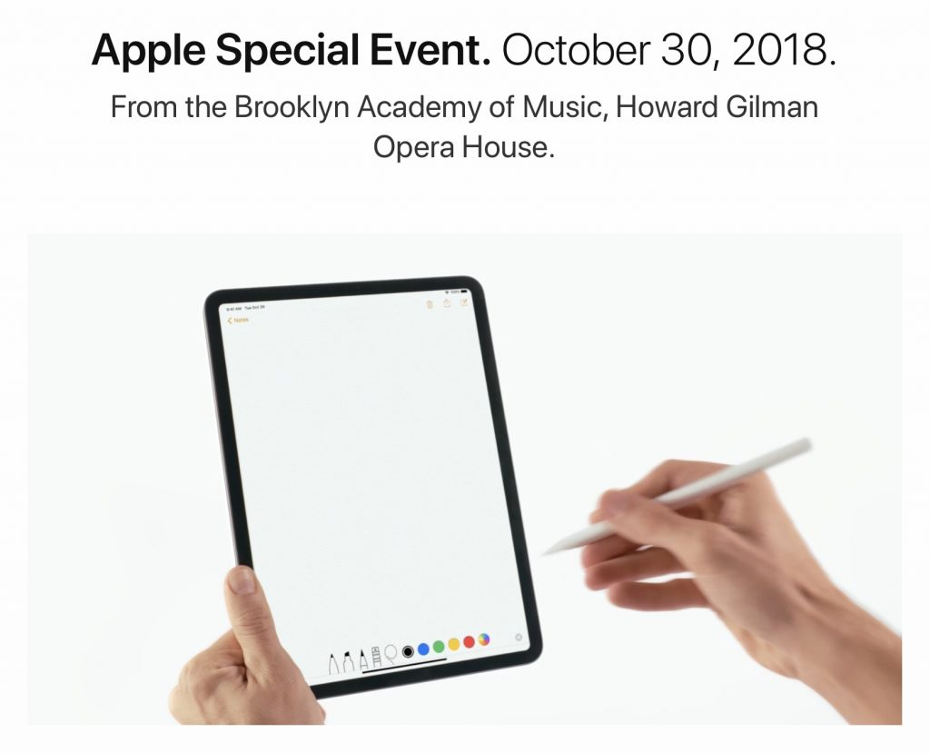 iPad Pro gets a 2018 refresh.