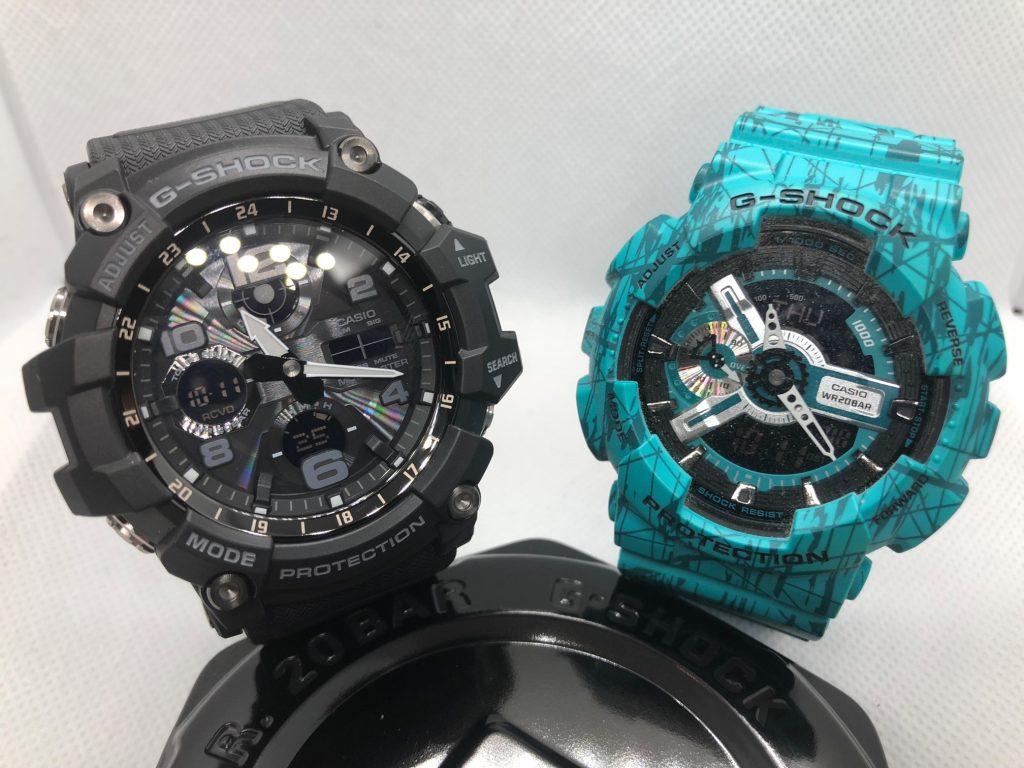Casio G-Shock Mudmaster GWG-100 Size Comparisons