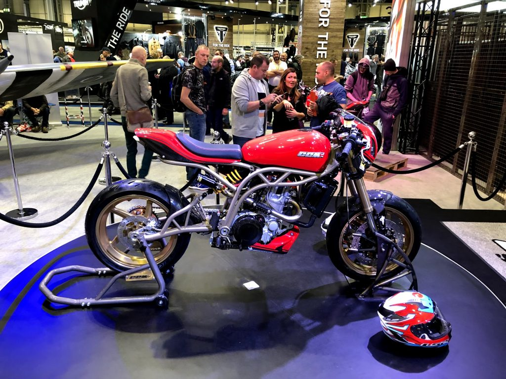 CCM at Motorcycle Live 2018