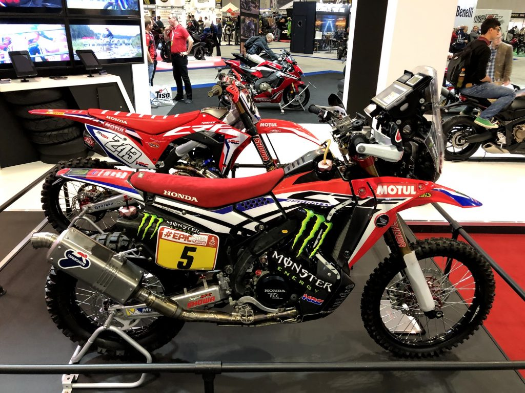 Honda Dakar Race Bike
