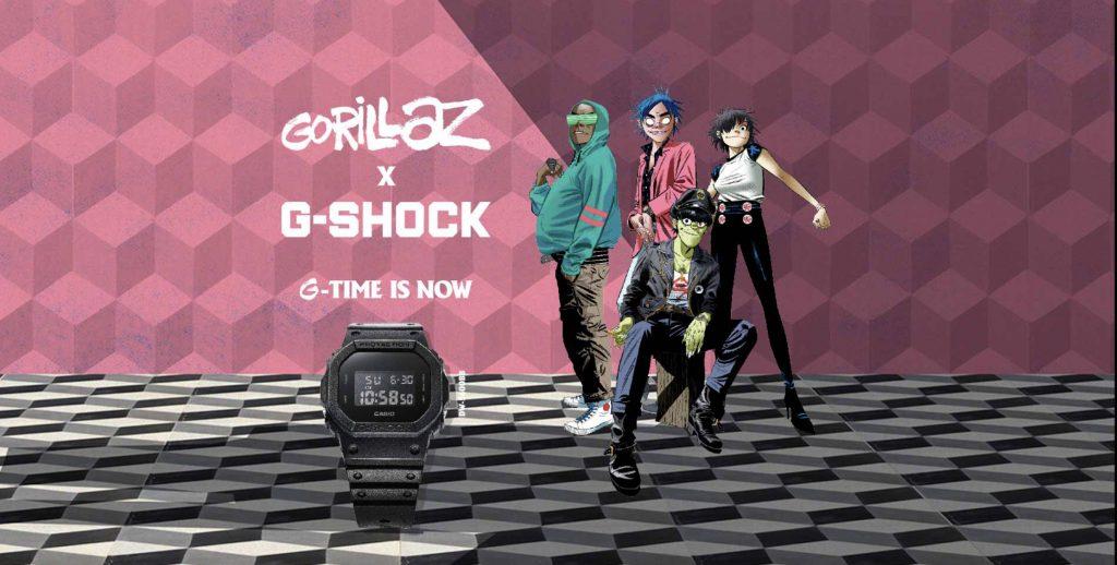 Casio G-Shock X Gorillaz