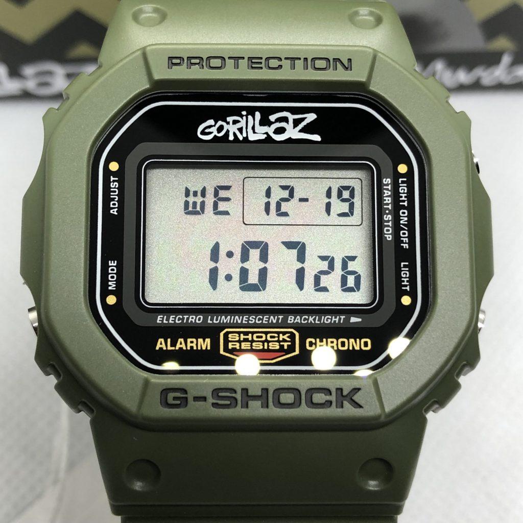 Casio G-Shock X Gorillaz : Murdoc