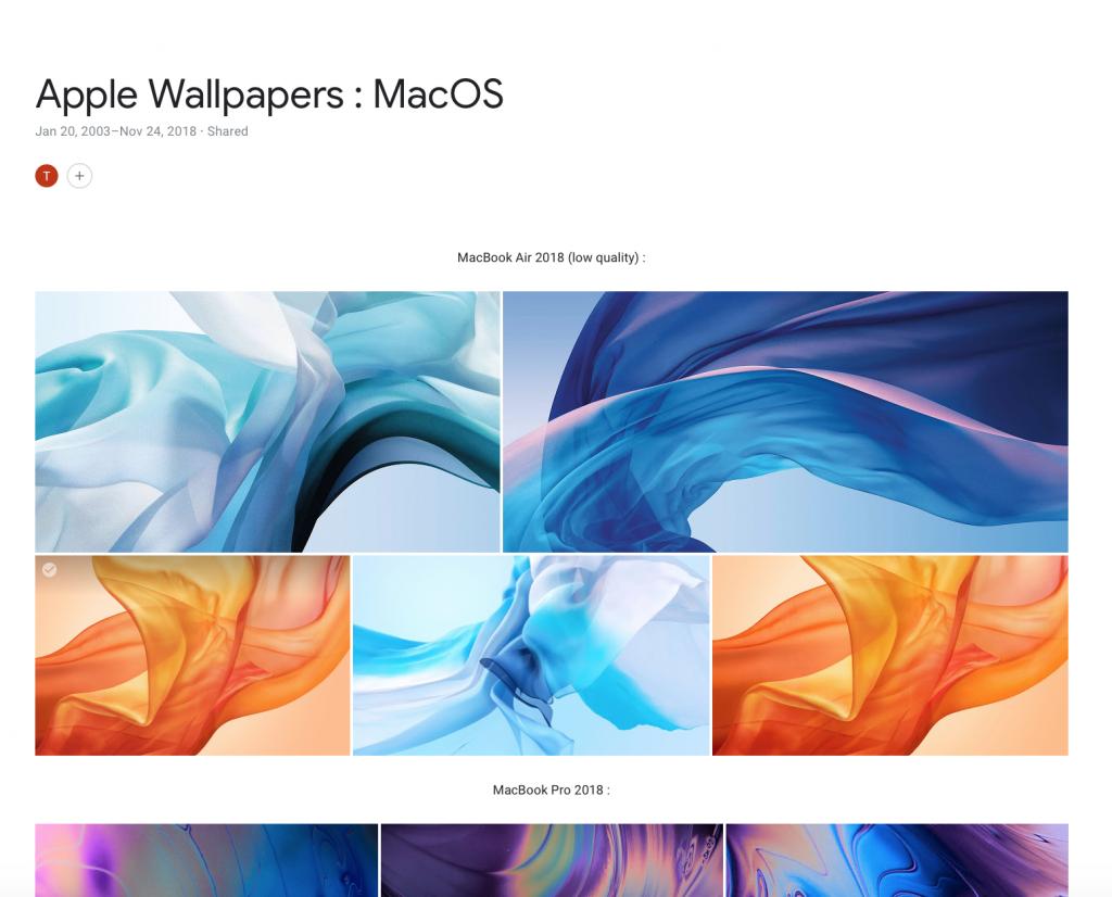 MacOS Wallpapers