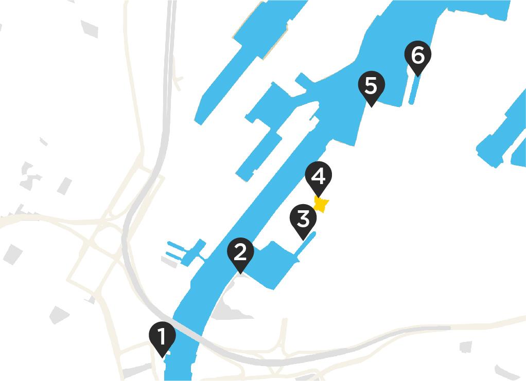 Hello Maritime Mile, Belfast - Map