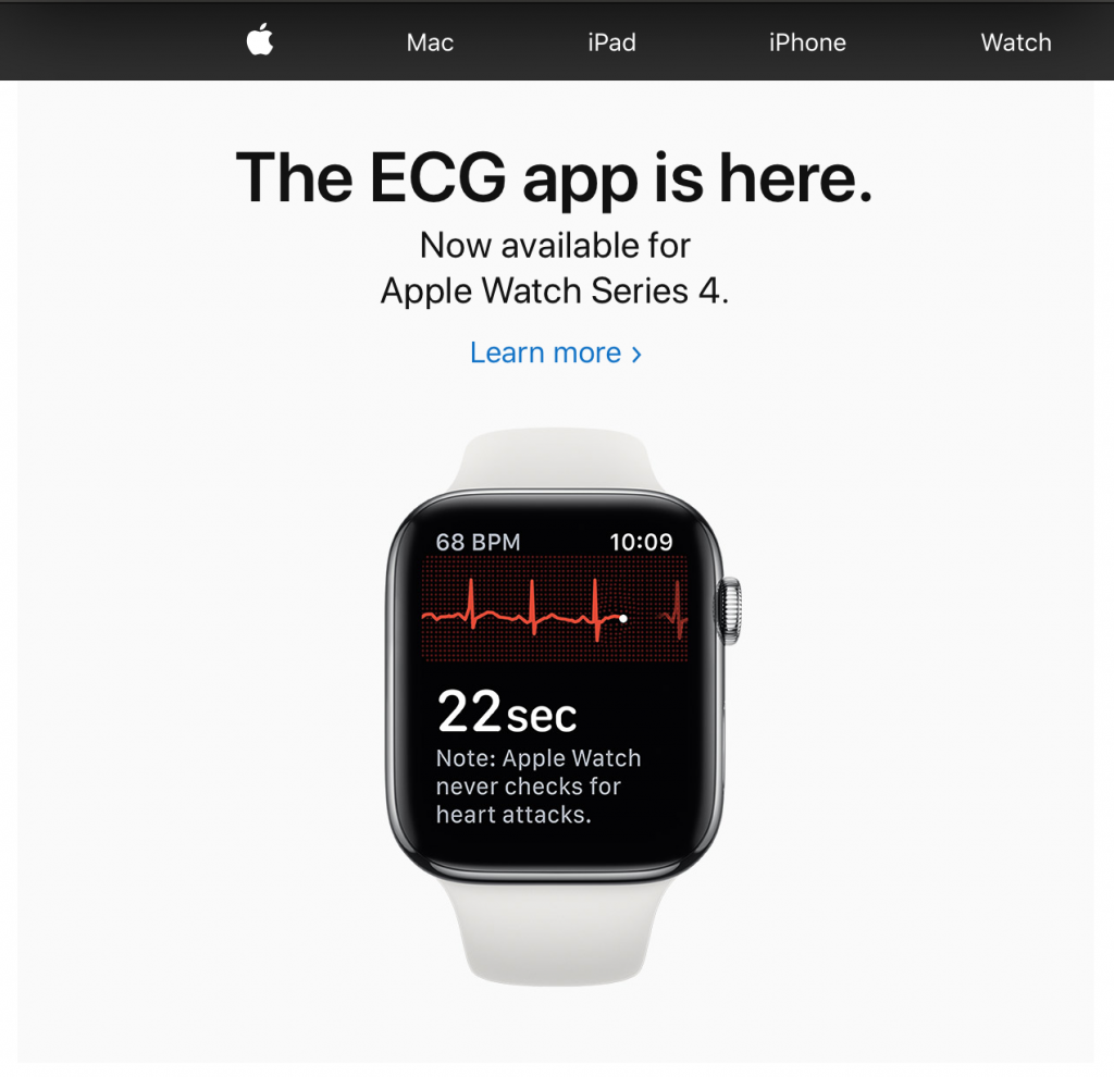 Apple ECG App Available in the UK