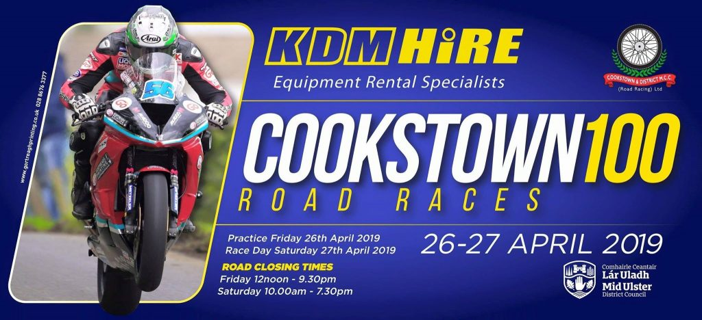 2019 Cookstown 100 Road Races