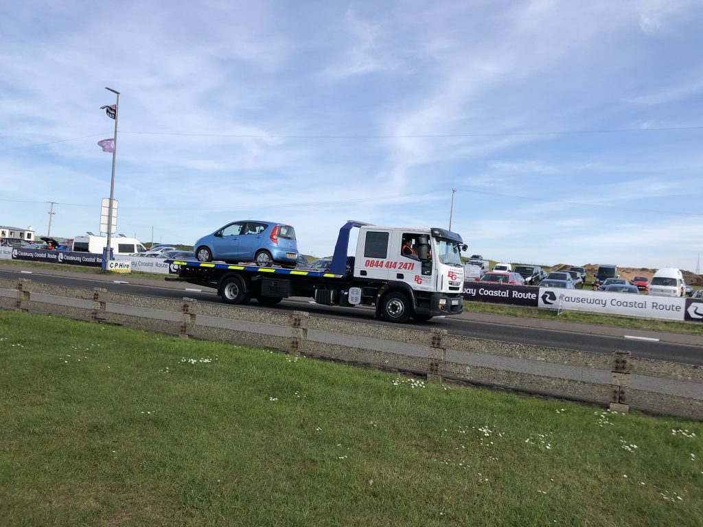 16/05/2019 NW200 Tow Away