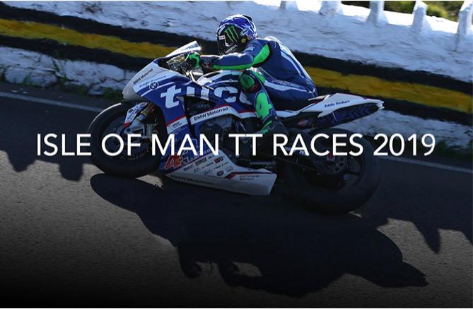2019 Isle of Man TT Banner
