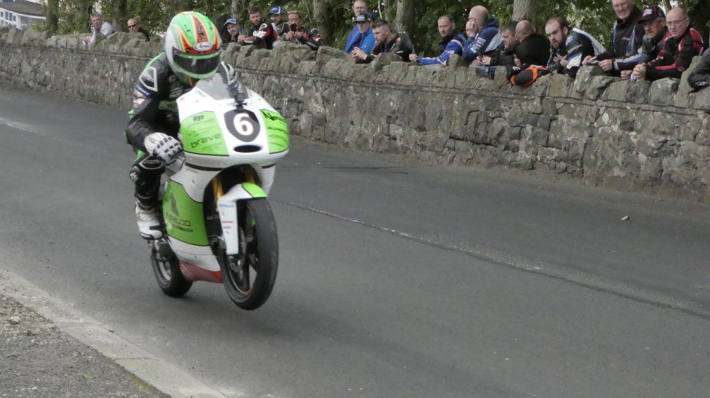 2019 Armoy Races : Derek McGee taking the 125cc / Moto 3 Win