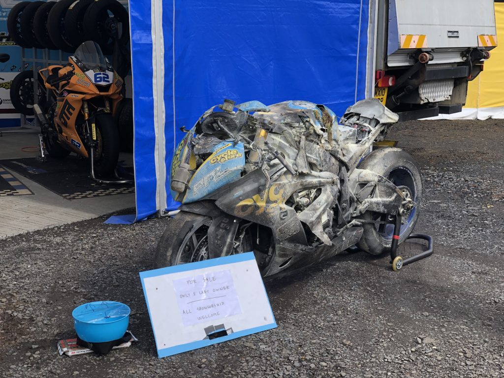 Sam West Superbike 2019 Ulster Grand Prix