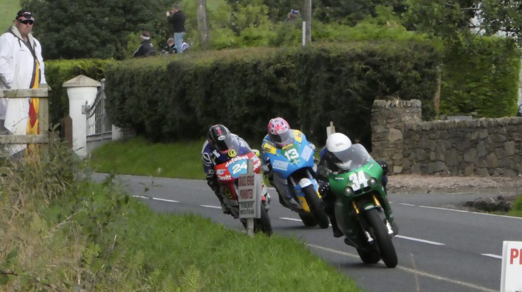 Loughlin, Jordan, Johnston on the Supertwins at the 2019 UGP