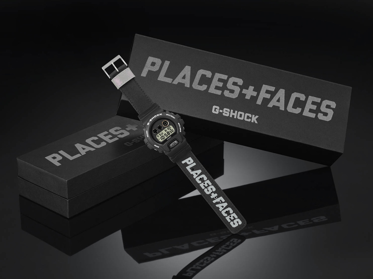 Places + Faces G-Shock : DW-6900PF-1ER