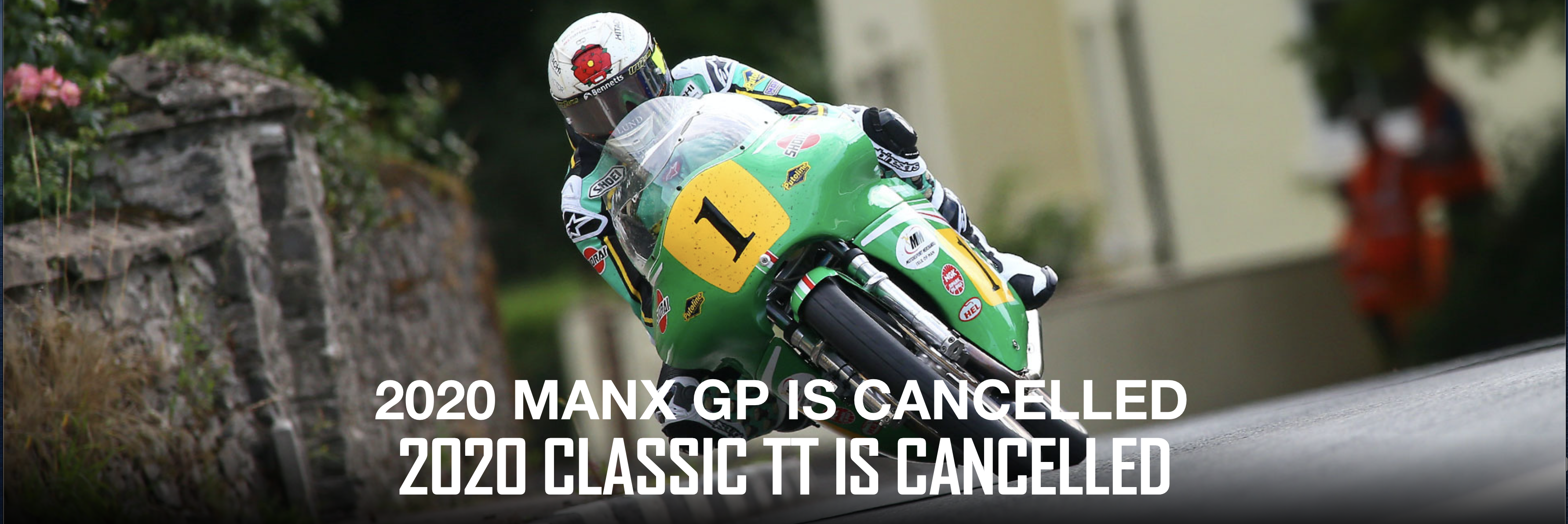 2020 Manx GP and Classic TT : Cancelled