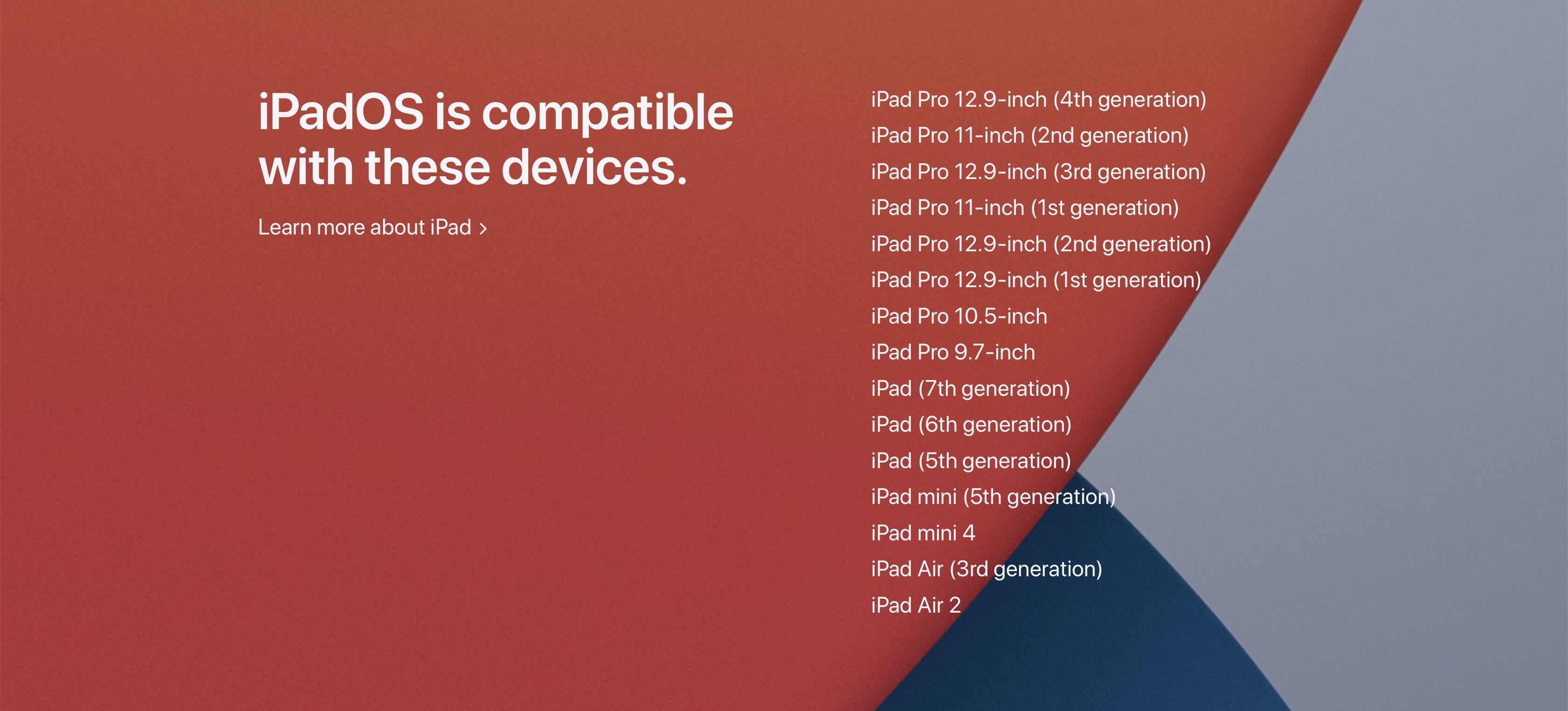 IPADOS 14 Compatibility