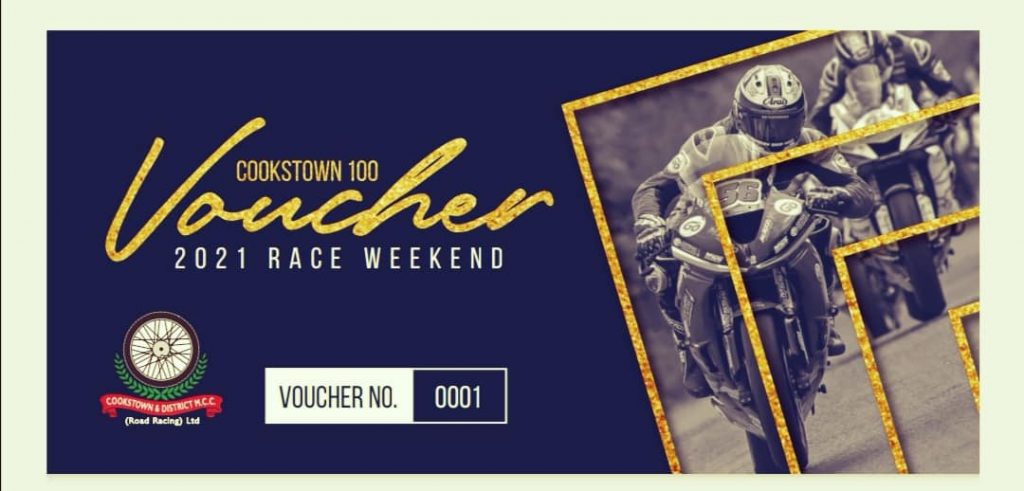 2021 Cookstown 100 Ticket