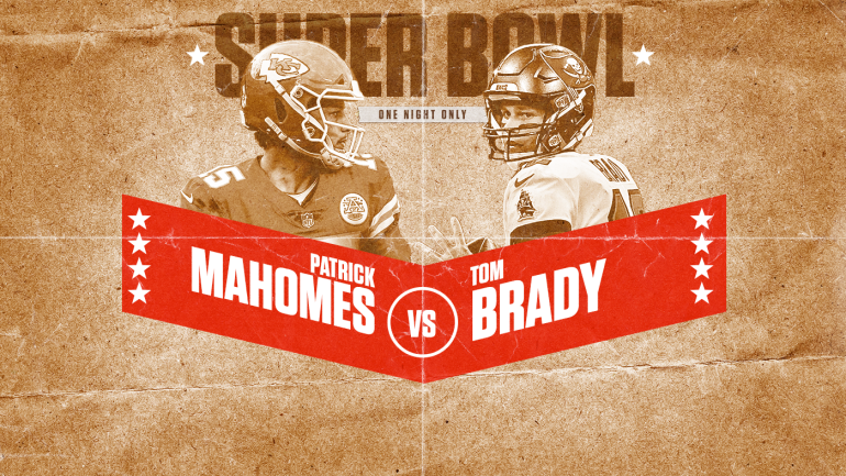 Super Bowl LV : Tom Brady v Patrick Mahomes